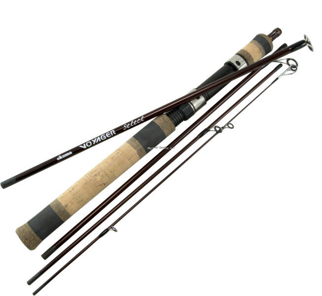 NEW Okuma Voyager Select Travel Fishing Rod 6' 0  ML Altera-20  VSX-601ML-20-