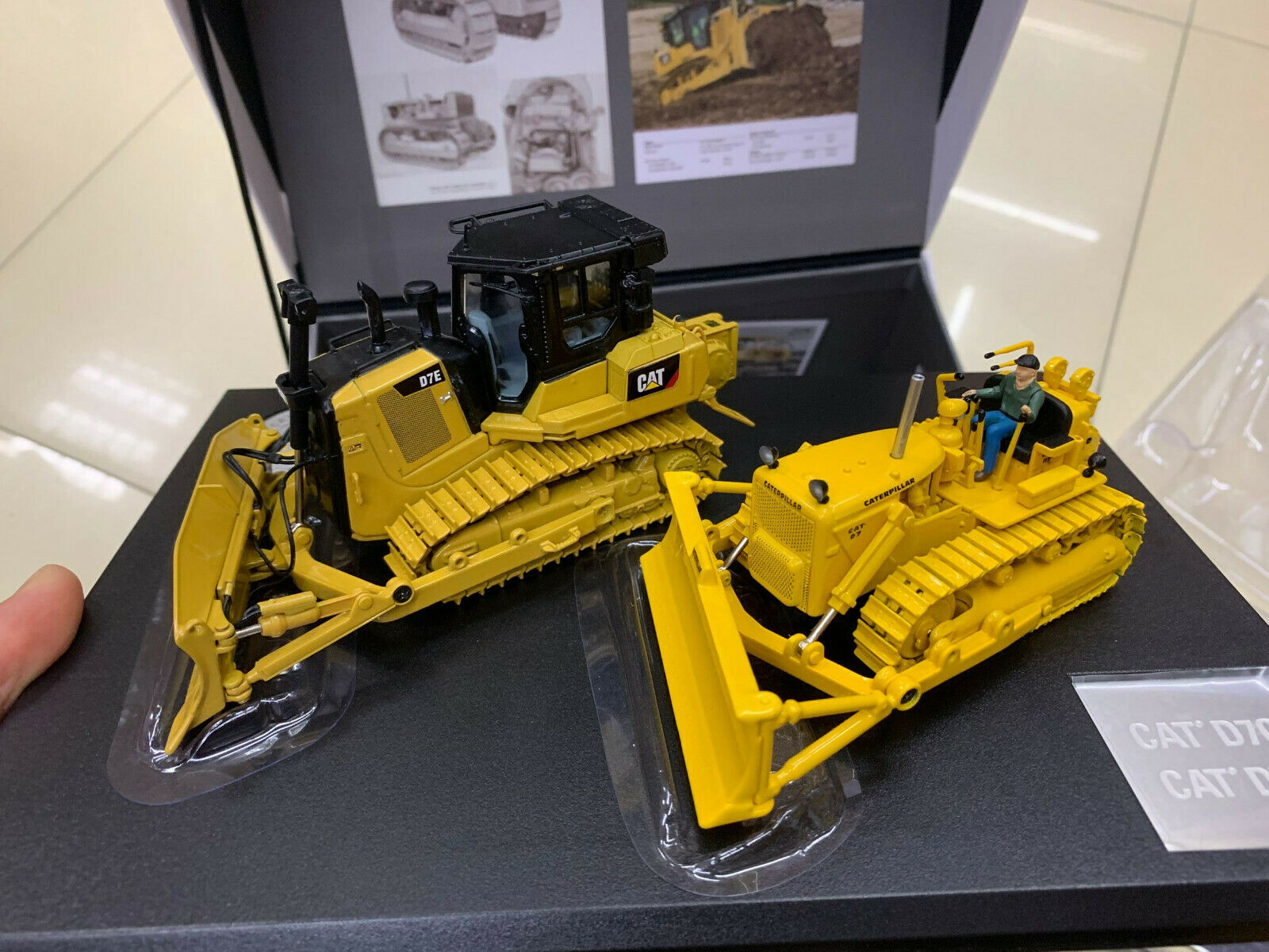 CAT catéphile d7c Tractor and and and d7e tractor 2  50 last Master 85561 2a5