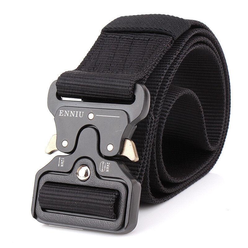 "49*1.77"" Tactical Buckle Belt Military Belt Strap"