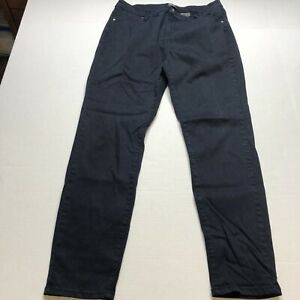 Buffalo David Bitton Royal Mid Rise Stretch Skinny Dark Blue Pants Sz 14 A1993