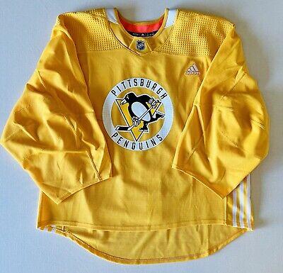 Pittsburgh Penguins Adidas MiC Goalie Cut Practice Jersey 58G   eBay