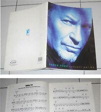 Spartiti VASCO ROSSI Canzoni per me - Carisch 1998 Sheet Songbook