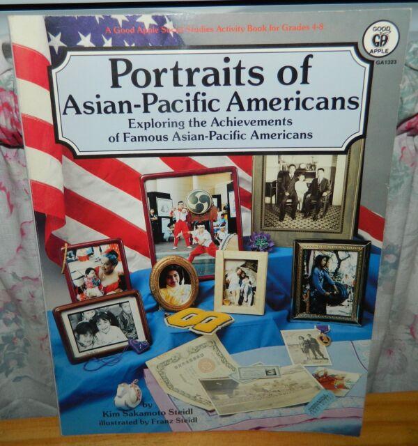 PORTRAITS OF ASIAN-PACIFIC AMERICANS Exploring Achievements BOOK Kim Sakamoto