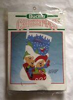 Bucilla Playful Bears Christmas Felt Stocking Kit 82731