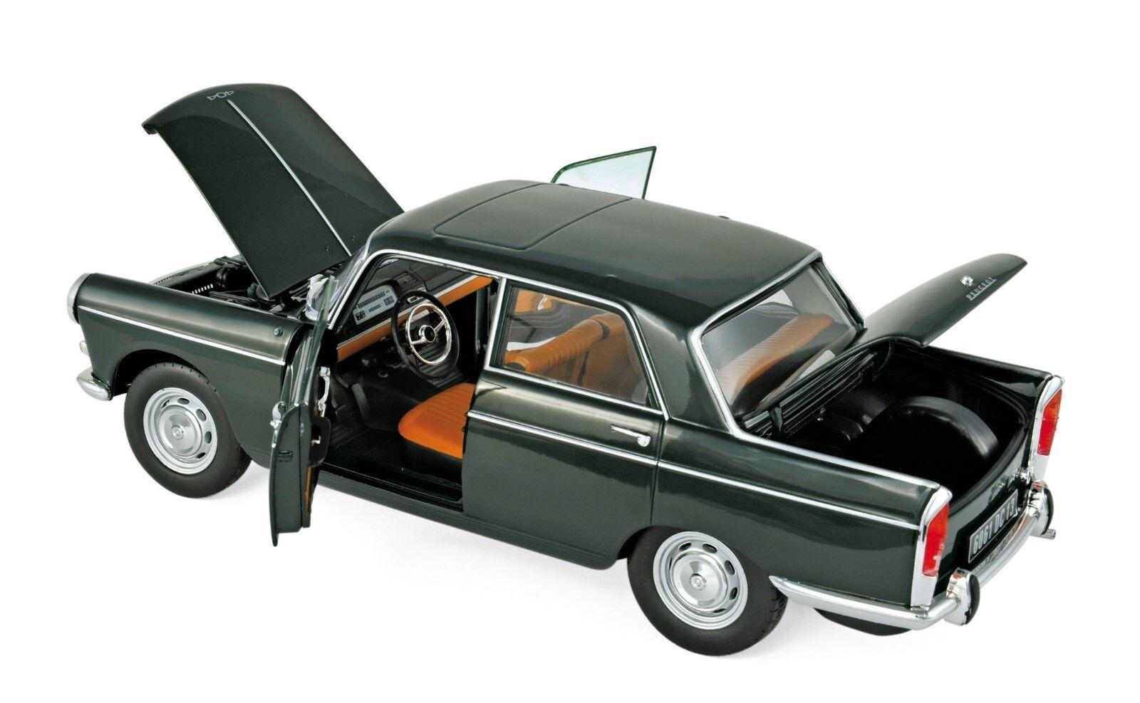 Peugeot 404 1965 dunkelgrün 1 18 Norev 184833 neu neu neu & OVP a87b4f