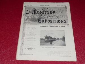 REVUE-EXPOSITION-UNIVERSELLE-1900-LE-MONITEUR-DE-1900-N-82-AOUT-1900