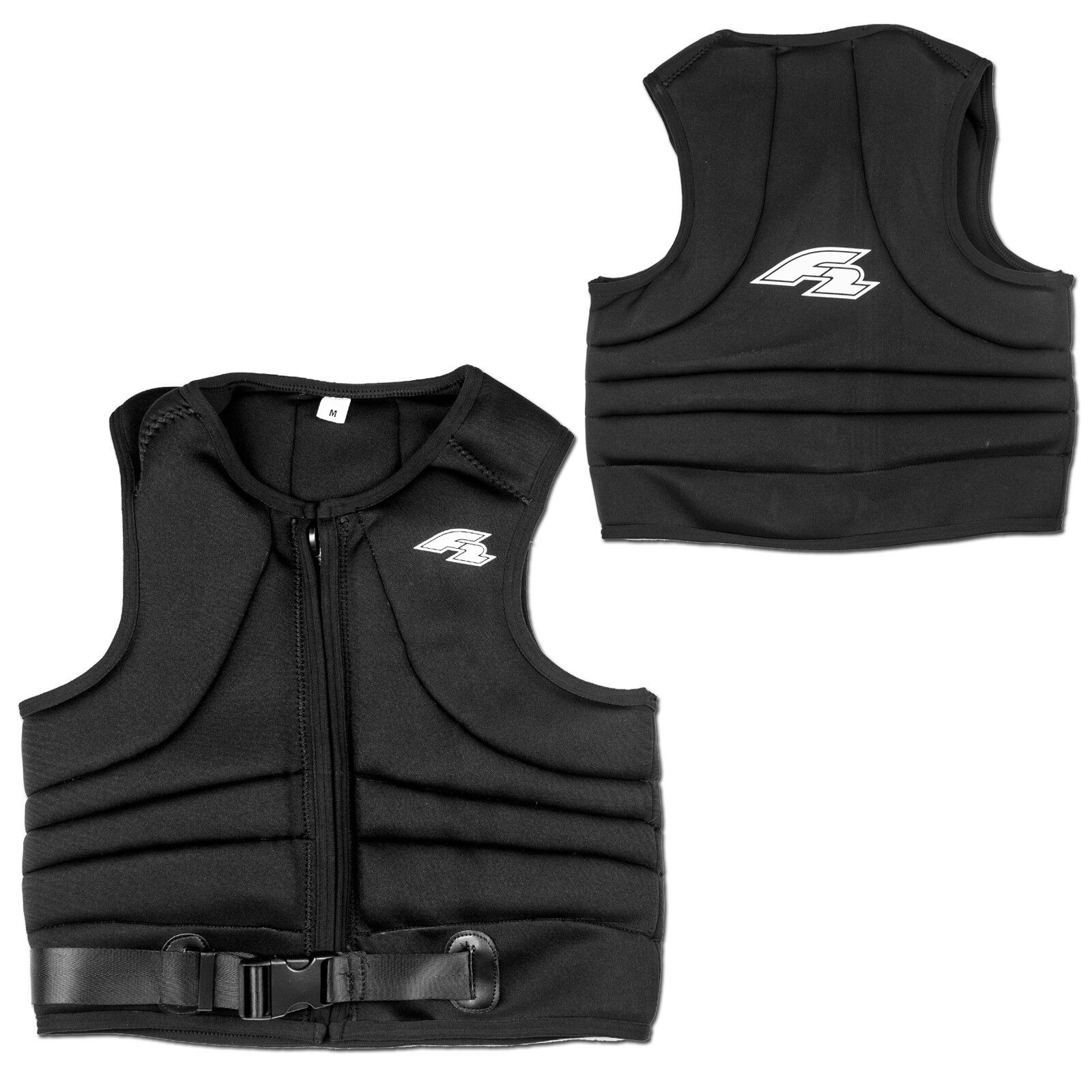 F2 Impact Fusion Vest  Kite Wakeboard Surf Impact Predection Vest - S
