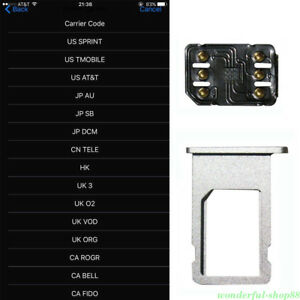 Iphone Se Sim Karte.Unlock Turbo Sim Card For Iphone X 8 7 6s 6 Plus 5s Se 5 Lte Ios