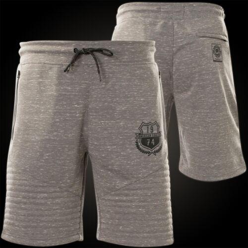 AMERICAN FIGHTER Affliction Shorts Muddy Water Sweat Short Grau Herren