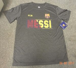 96a989421c Image is loading BARCELONA-fcb-Lionel-Messi-T-SHIRT-Jersey-young-