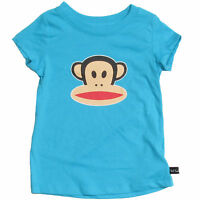 Paul Frank Girls T Shirt Pool Blue Toddler & Kids