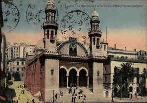 Alger-Algier-Algerien-Afrika-AK-1926-Africa-La-Cathedrale-et-le-Palais-d-039-Hiver