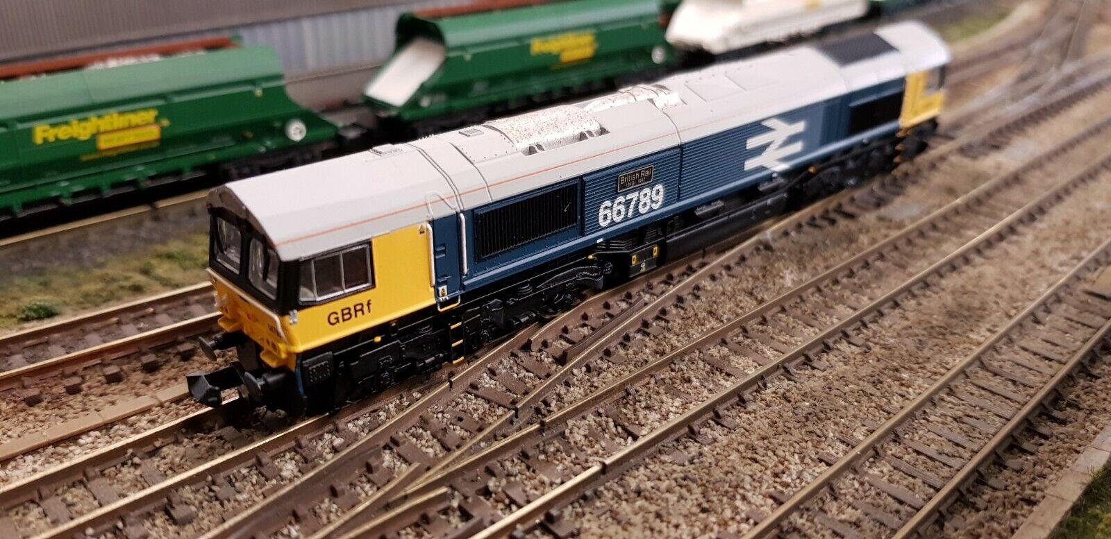 GM2210101 DAPOL DCC SOUND N GAUGE CLASS 66 GBRf BR LARGE LOGO azul ESU LSM V5