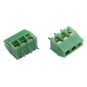 Printklemmen-Anschlussklemmen-3-polig-3-5mm-Leiterplattenklemme-Klemmenblock