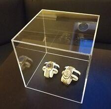 Acrylglas Display Box Schaukasten Vitrine Kasten Deko Schutz Würfel Glas 25x25cm