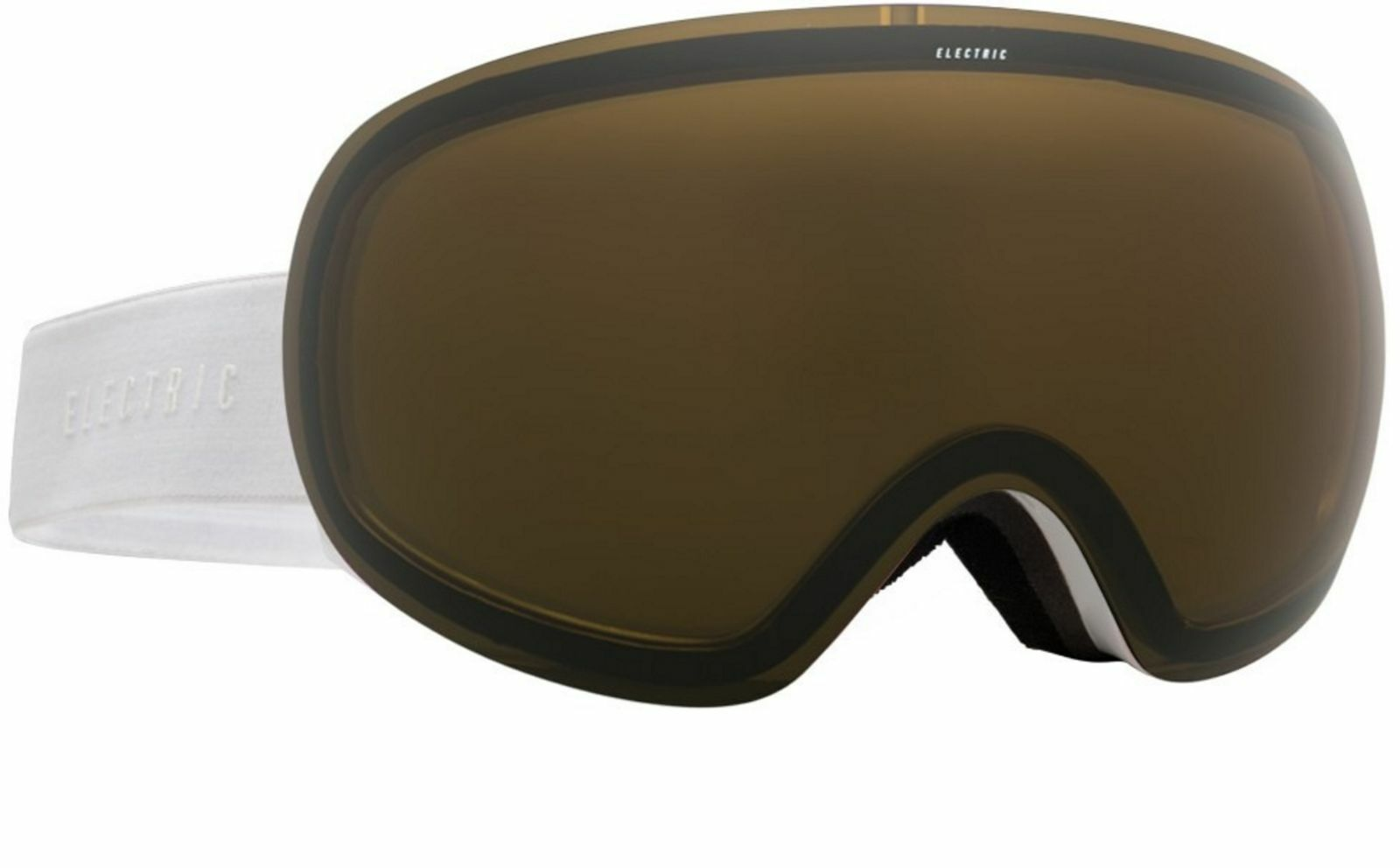 NEW Electric EG3.5 Goggles-Gloss White-Bronze Lens-SAME DAY SHIPPING