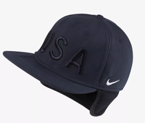 best service 5c342 69939 Image is loading Nike-Team-USA-Olympic-AEROBILL-Unisex-Pro-Hat-