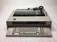 Ibm Wheelwriter 3 Vintage Electronic Typewriter Used Ribbon Tested Working