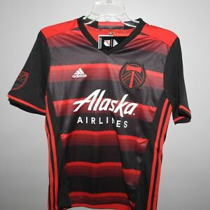 best service fa100 2fb63 Details about MLS Portland Timbers Adidas Soccer Jersey New Youth Sizes
