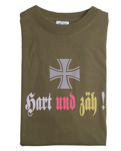 Mil-tec t-shirt duro y fuerte inscripciones single Jersey algodón carnaval S-XXL Nuevo