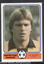 Monty Gum World Cup 1982 Football Card No 53 - Koncilia - Austria