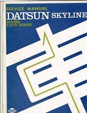 Datsun Skyline Model C210 Series Service Manual