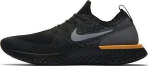 for whole family quite nice pretty nice Nike Epic React Flyknit AV7004-001 Black Orange 100%AUTHENTIC Mens ...