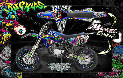 Number Plate Backgrounds YZ 250 1993-1995 GREEN