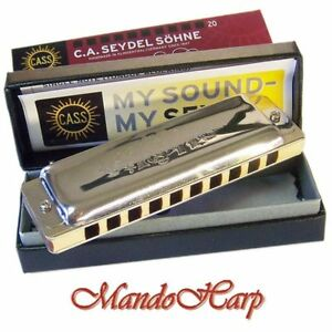 Seydel-Harmonica-16201-1847-Classic-KEY-OF-C-NEW
