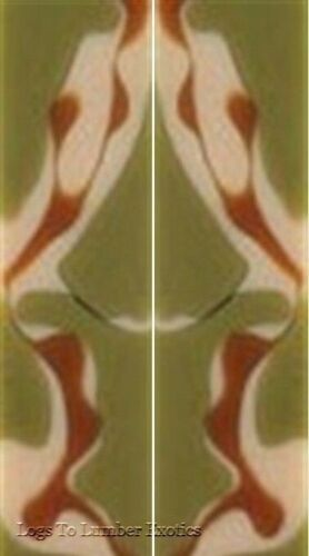 "Desert Camo Acrylic 29 2 pc Mini Knife//Razor Scale  3//16/""x3//4/""x3/"""