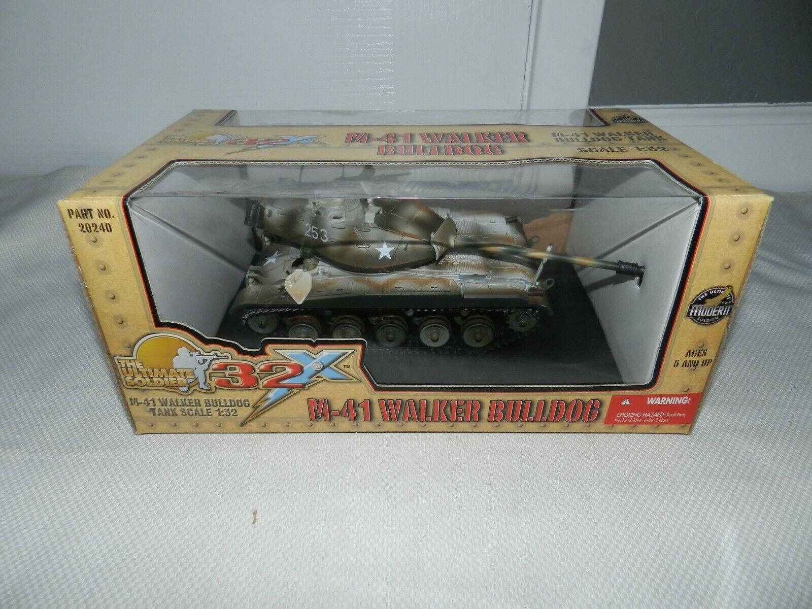 Tanque M-41 Walker Bulldog el soldado definitivo 32x 1 32 nuevo saeled 20240 + rossoondo