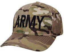 army ballcap hat baseball cap style multicam camo low profile rothco 8087