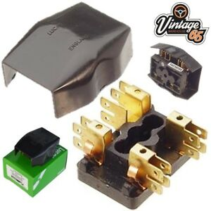 lucas 54038068 4fj 2 way fuse box glass fuses genuine for jaguar mgb mgb intake manifold image is loading lucas 54038068 4fj 2 way fuse box glass