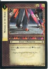 Lord Of The Rings Foil CCG Card RotK 7.C153 Mumakil Of The Harad