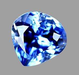 7.30 Ct Natural Blue Ceylon Sapphire STUNNING Certified VVS Clarity Gemstone