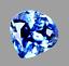 thumbnail 1 - 7.30 Ct Natural Blue Ceylon Sapphire STUNNING Certified VVS Clarity Gemstone