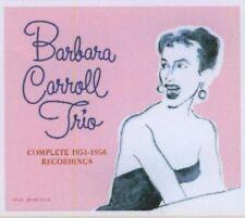 BARBARA CARROLL - COMPLETE 1951-56 TRIO RECORDINGS 4 CD NEU