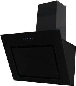 umluftset dunstabzugshaube aktivkohlefilter 60cm kopffreihaube schwarz glas ebay. Black Bedroom Furniture Sets. Home Design Ideas