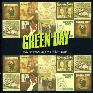 Green-Day-Studio-Albums-1990-09-New-CD-UK-Import