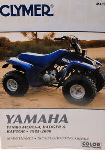 250 yamaha moto 4 wiring 95 yfm350er moto 4 wiring diagram new yamaha yfm80 80 badger moto-4 raptor repair manual! | ebay #12