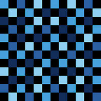 Team Thomas The Tank Engine Quilt Fabric By The 1/2 Yd Blue Checkerboard 22907b