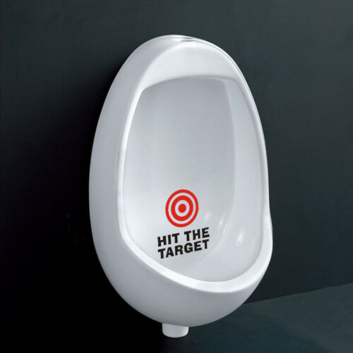 QT-0088 The new HIT THE TARGET Toilet Stickers Wallpapers Waterproof For toilet