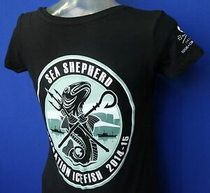 Sea-Shepherd-Operation-Icefish-Jolly-Roger-Black-Ladies-fitted-t-shirt