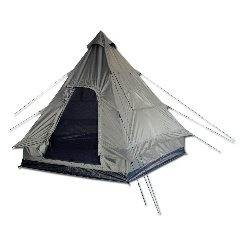 Tente pyramide pyramide pyramide  Mil-tec Tipi kaki f49775