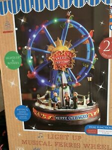 Christmas-ferris-wheel-Lights-And-Sounds-Great-Size-And-Feature-Musical-Xmas