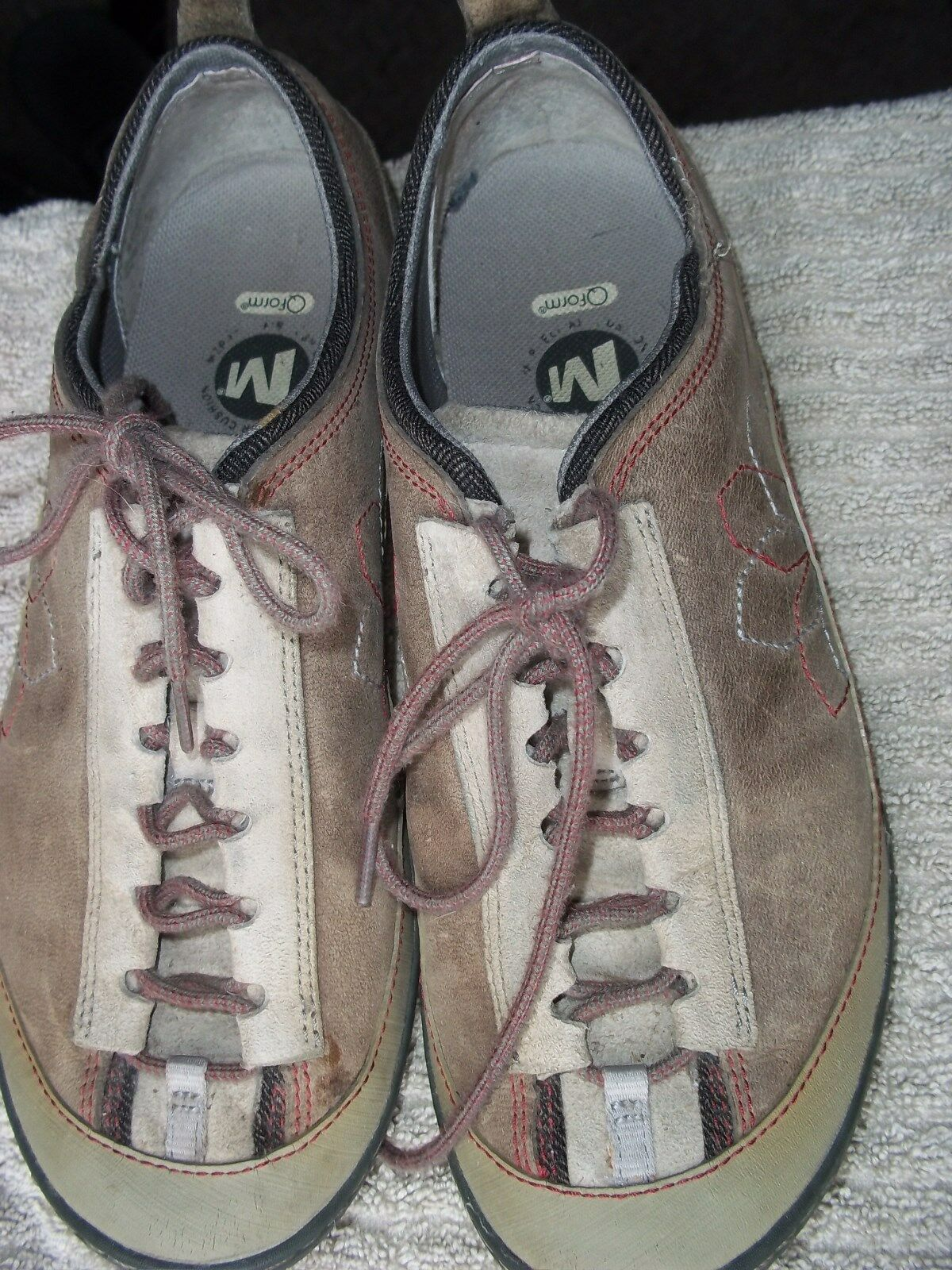MERRELL Lace-up low-cut Leather shoes WOMENS Size 7.5 EUR 38
