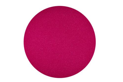 REDUZIERT Filzuntersetzer Ø 25 cm pink 100/% Merino Schurwoll Filz H 3mm