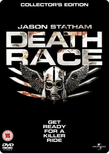 1 of 1 - DEATH RACE Steelbook DVD Collectors Edition Jason Statham New Sealed UK R2
