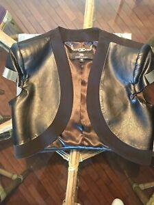 low priced 2d884 4914e Dettagli su Coprispalle bolero elegante donna Elisabetta Franchi Celin B