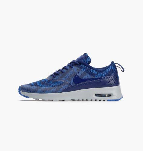 Max 600 Thea 401 Air 718646 Neu Blau Jacquard Sneaker Weinrot Flyknit Nike Kjcrd knwOP0